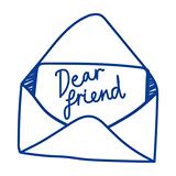 Dear Friend logo
