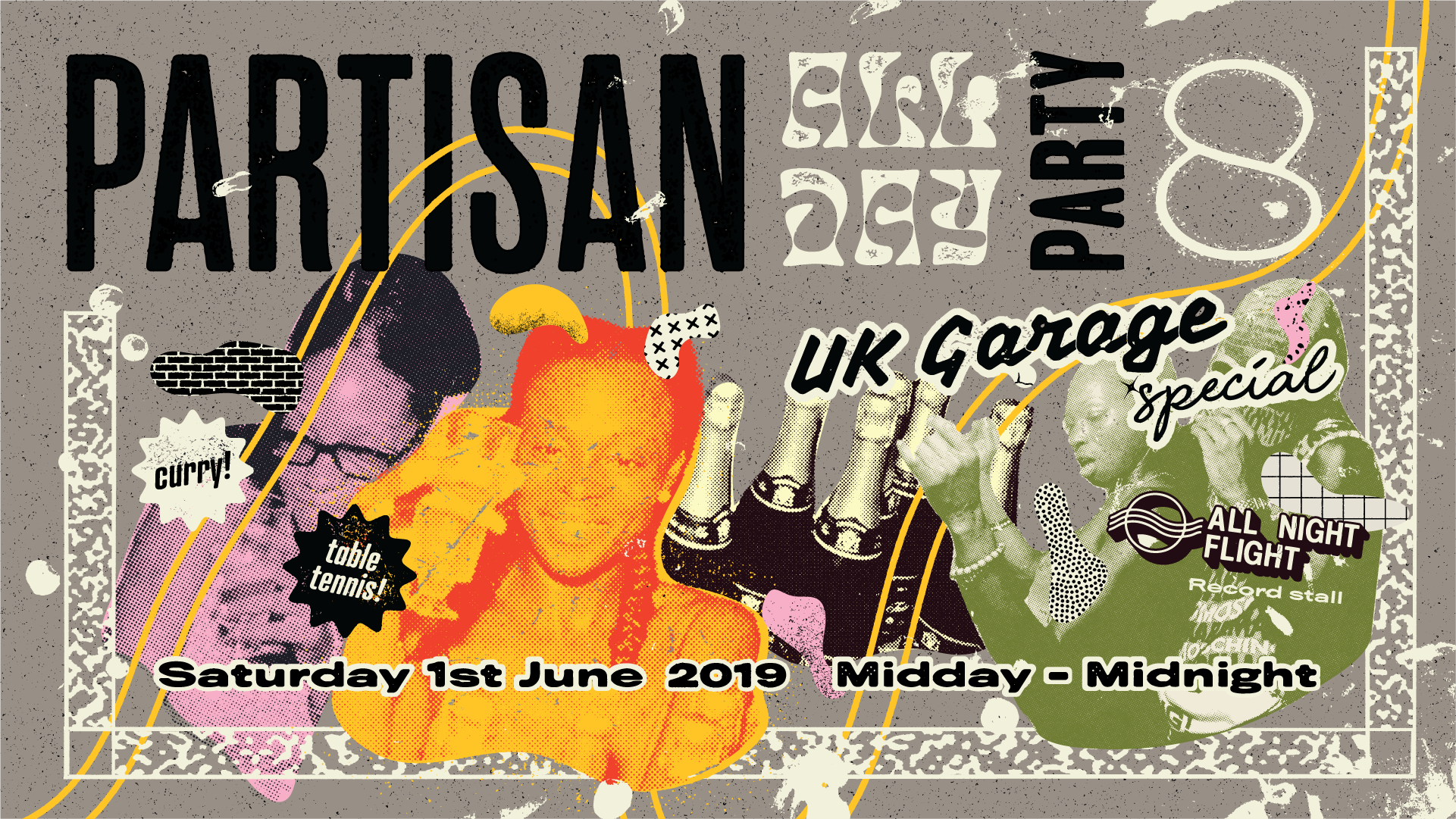 UPCOMING: Partisan All Day Party #8 – UK Garage special! – June 1st 2019