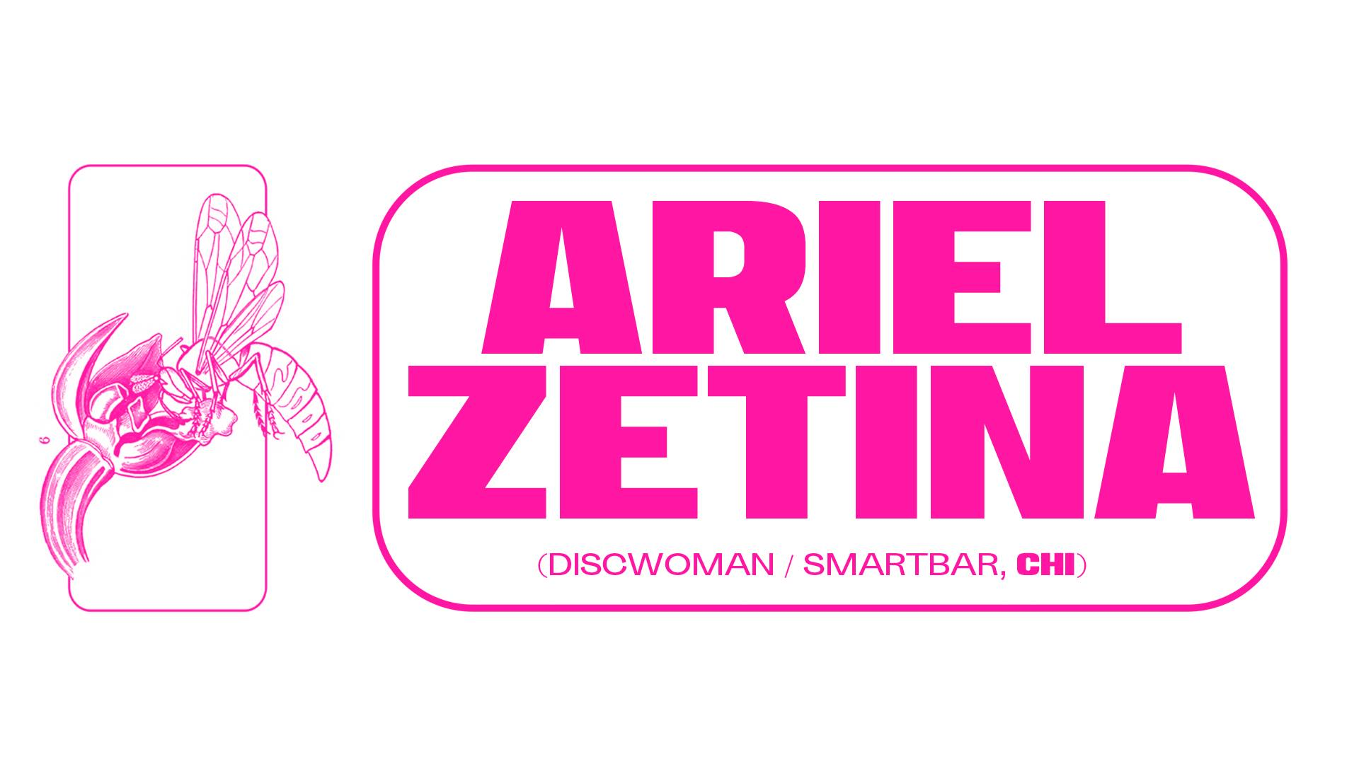 UPCOMING: Mutualism Presents Ariel Zetina (Discwoman/Smartbar) – May 31st 2019