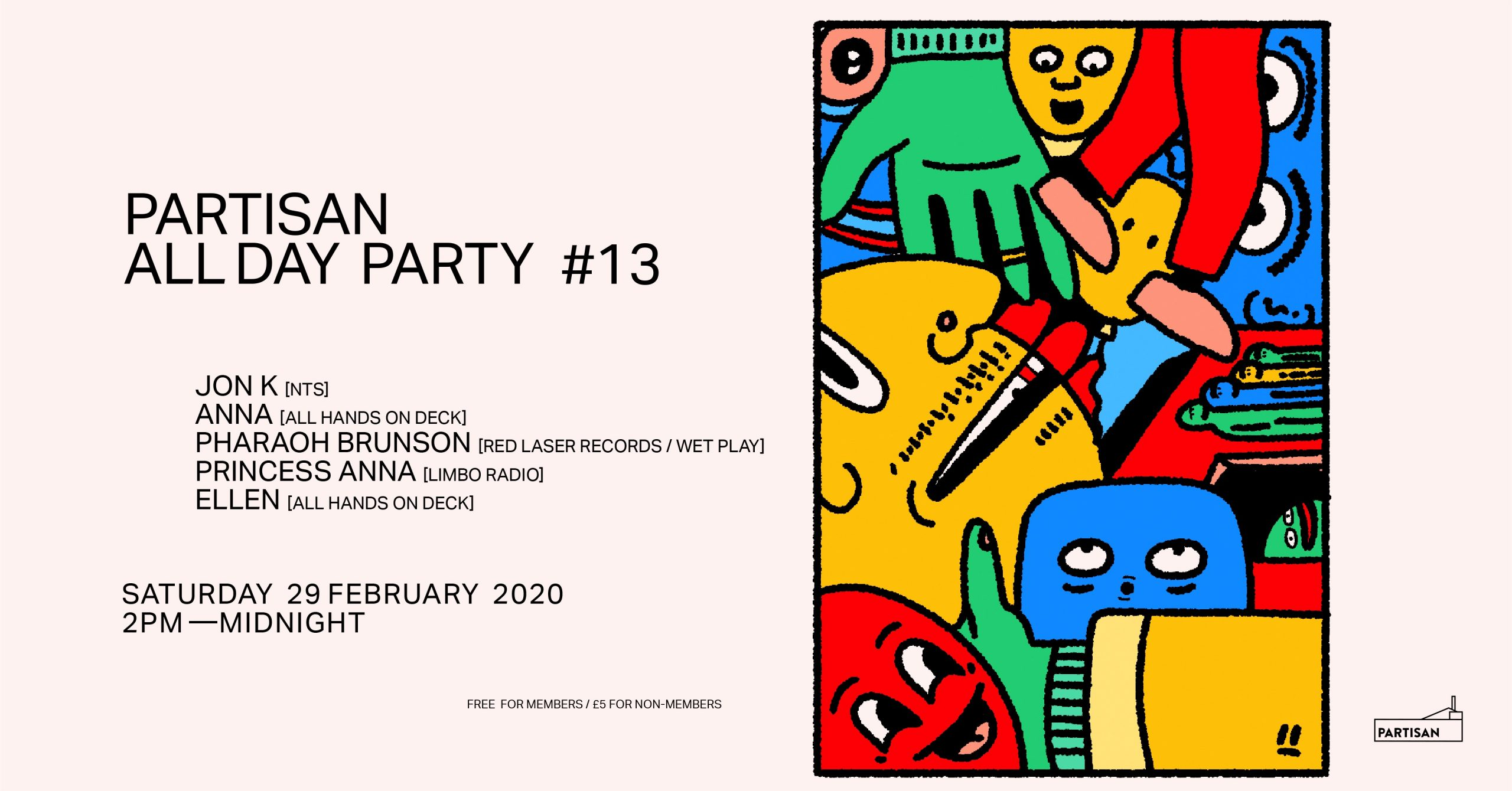 Partisan All Day Party ! #13