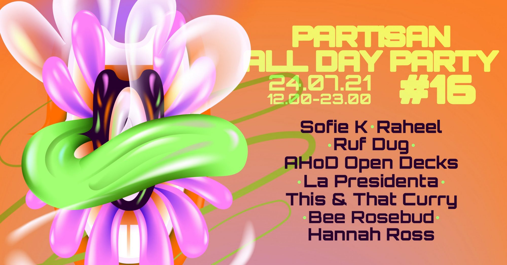The Partisan All Day Party is back!