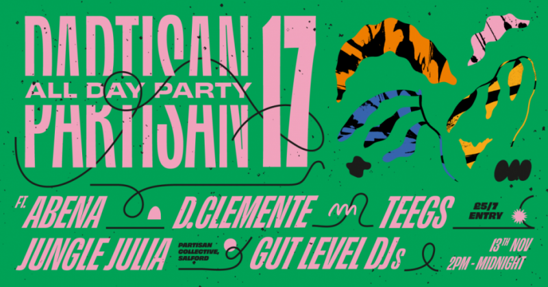 Partisan All Day party #17 !